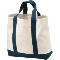 Buy cheap Stylish Canvas Tote Baby Diaper Bag Eco Friendly For Supermarket Shopping from wholesalers