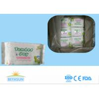 China Water Based Adult Baby Wipes For Sensitive Skin / Disposable Wet Tissue Wipes wholesale