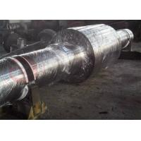 China Hydraulic Press Drive Forged Steel Shaft Alloy Steel 42CrMo4 , OD 2000mm wholesale