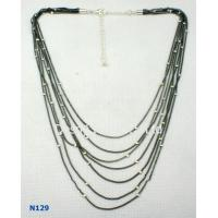 China 2012 fashion Jewelry Display Trays Chain Mixed Metal Necklace for women wholesale