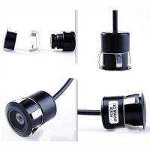 China 18.5mm HD Car Backup Rear View Camera , Punch Inlaid Mini Night Vision Camera wholesale