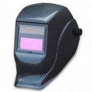 China Auto-darkening Welding Helmet with Knob Adjustment and Built-in Sensitivity Controller wholesale