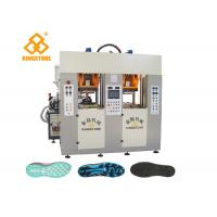 China Two Stations two injectors TPU TR PVC TPR Sole Making Machines with servo system/ 3.5*3.8*2.8m wholesale