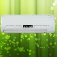 China R410a high cooling effect 9000 12000 18000 split air conditioner with  copper pipe with white panel on sale