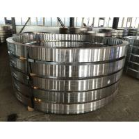 China Hydraulic Engineering Ring Roll Forging Flange , ASTM 304 Stainless Steel wholesale
