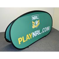 Quality Custom Popup A Frame Banners , Double Side Pop Up Banner Stands Full Color for sale
