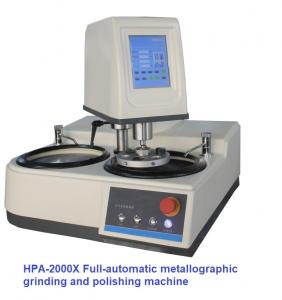 China Center Load 6 Samples Metallographic Polishing Machine Double Disc Full Automatic Grinding wholesale