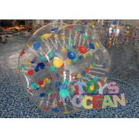 Quality Promotional Giant Inflatable Hamster Ball Color / Clear Inflatable Ball CE for sale