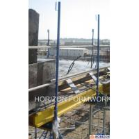China Q235 Steel Slab Shuttering System Guarding Railing Post For Steel Work Safety wholesale
