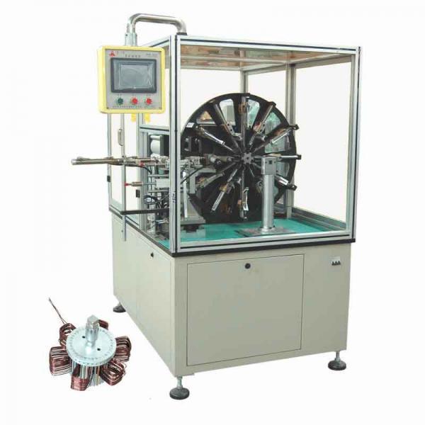 Automatic stator winding machine with induction motor for Linear induction motor winding