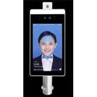 China AI Face Recognition Body Floor Standing Temperature Scanner wholesale