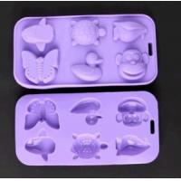 Wholesale China Wholesale Various Shape Silicone Chocolate Molds Animals Ice Tray from china suppliers