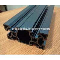 Laser engraving on anodized aluminum, Super high precision blue anodized extruded aluminum profile