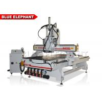 China High Speed Multi - Head CNC Router Engraving Glass Machine Rapid Running Speed on sale