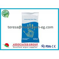 China Baby Antibacterial Hand Wipes Individual Packets With Aloe Barbadensis wholesale