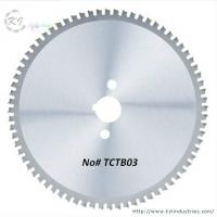 China TCT Circular Saw Blade for Cutting Steel / Iron and SS304 Pipe wholesale