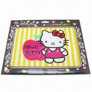 China Flash Laptop Sticker with Acrylic Rhinestones, Fashionable Collection Design wholesale