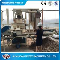 China 90kw Vertical Ring Die Wood Sawdust Biomass Fuel Pellet Machine wholesale