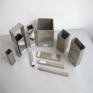 China ASTM B338 Grade2 Seamless Titanium Square Tube Pipe wholesale