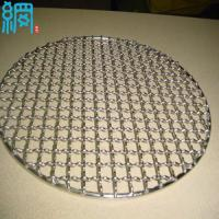 China Cheap Price !! Round Type BBQ Wire Mesh Barbecue Grill Screens wholesale