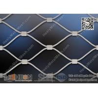China 316L Stainless Steel Wire Cable Mesh With Ferrule | China ISO certificated Company wholesale