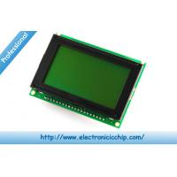 "China 128x64 LCD Character Display Serial 220mA no parity , Graphic LCD Display 3 x 2 x 0.6"" wholesale"