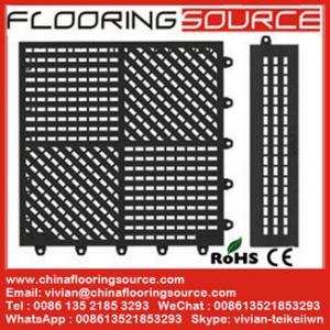 China Interlocking pvc wet area mat locker room mat bathroom mat drain water mat wholesale