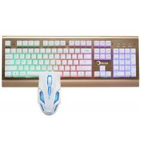 China Led Gaming Keyboard And Mouse Combo For Windows 2000 / XP / VISTA / 7 / 8 wholesale