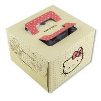 China Beautiful, fashionable, exquisite and good quality cake box on sale