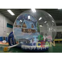 China Transparent Human Advertising Inflatables Snow Globe For Festival Shows Decoration wholesale