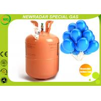China Lightweight Disposable Helium Gas Cylinder For Balloons Environment on sale