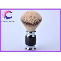 Quality Hand made silvertip badger shaving brushes with real black ebony handle for sale