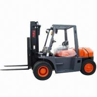 Quality Diesel Forklift Truck, Rated Load Capacity of 6000kg, Load Center of 600mm for sale