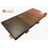 China 2mm / 2.5mm / 3mm Wooden Decorative Aluminum Wall Panel for Exterior Building wholesale