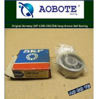 China SKF 6300-2RSJEM Deep Groove Ball Bearing with Single Direction and High Load wholesale