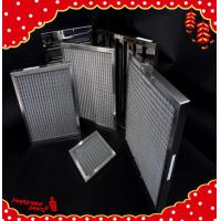 China 610x610x50mm metal frame separator minipleat high temperature air filters wholesale