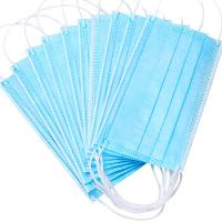 China Nonwoven Anti Dust 3ply Civil Disposable Nose Mask wholesale