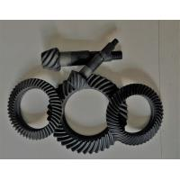 Right Hand Steel Spiral Bevel Gear For Gearbox Anti - Oil Blacking Surface Treatment