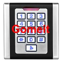 Quality 12VDC Standalone Keypad Access Control , Waterproof Standalone Door Access Control for sale