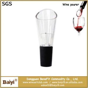 China Portable red wine pourer,wine bottle pourer wholesale