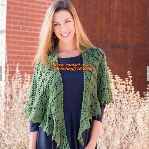 China Crochet Woman Poncho, Poncho, woman poncho, poncho wrap, Green Free Knitting Crochet Woman wholesale