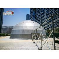 China Huge 20m Geodesic Dome Tent for Outdoor Events 12 Months Warranty wholesale