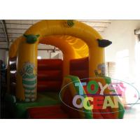 China New Design Colorful Inflatable Elephant  PVC Bounce Castle For Kids wholesale