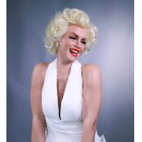 Buy cheap life-size sexy lady marilyn monroe classic pose silicone wax figure for sale from wholesalers