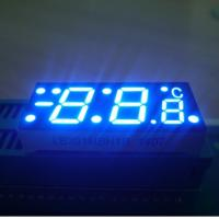 China Custom  ultra blue common anode Seven Segment Led Display Apply To Digital Temperature Controller wholesale