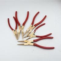 Buy cheap NON SPARKING NON MAGNETIC EXPLOSION PROOF  SNAP RING -INTERNAL PLIER ALUMINUM BRONZE OR BERYLLIUM COPPER from wholesalers