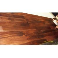 China Acacia Engineered  Flooring Flat Surface,UV lacquer.Click system wholesale