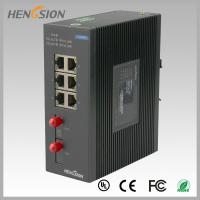 China 8 Port fast ethernet switch 1.2Mpps Packet forwarding speed , fiber network switch wholesale