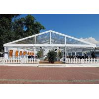 China Aluminum Alloy Easy Set Up Clear Event Tent Flame Resistant 18m * 20m Canopy wholesale