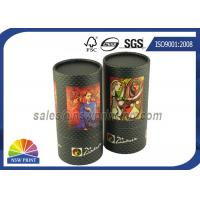 China Custom Tea / Coffee Beans Cardboard Cylinder Tubes Packaging Tubes wholesale